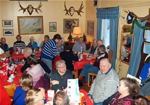 Kafélokalen med plats för 40 personer